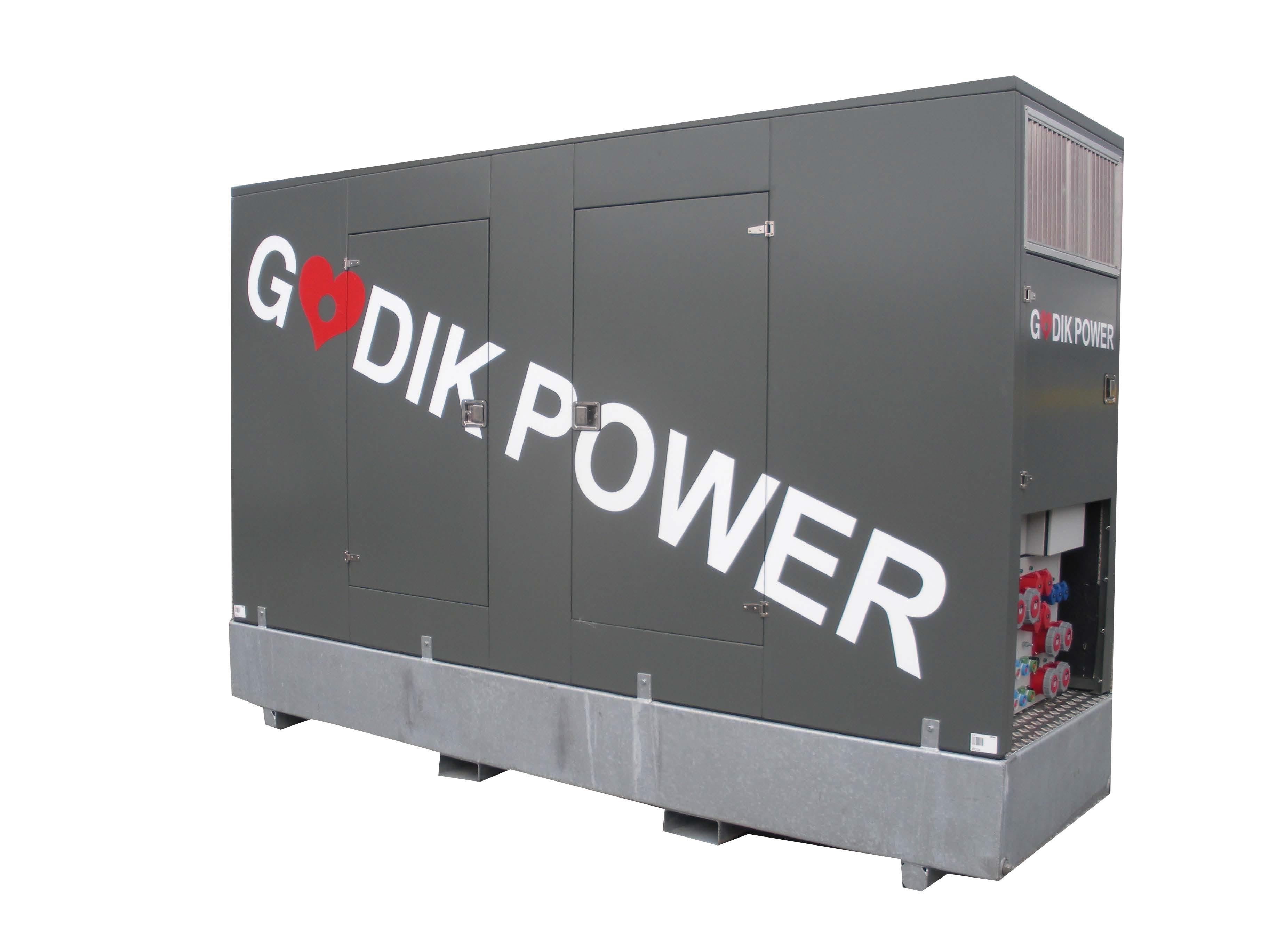 Generator 250 kVA Canopy vare nr Godik