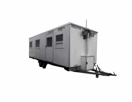 produktionsvogn med køkken